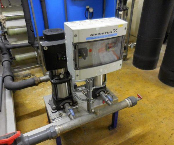 Druckerhöhung VE Wasser