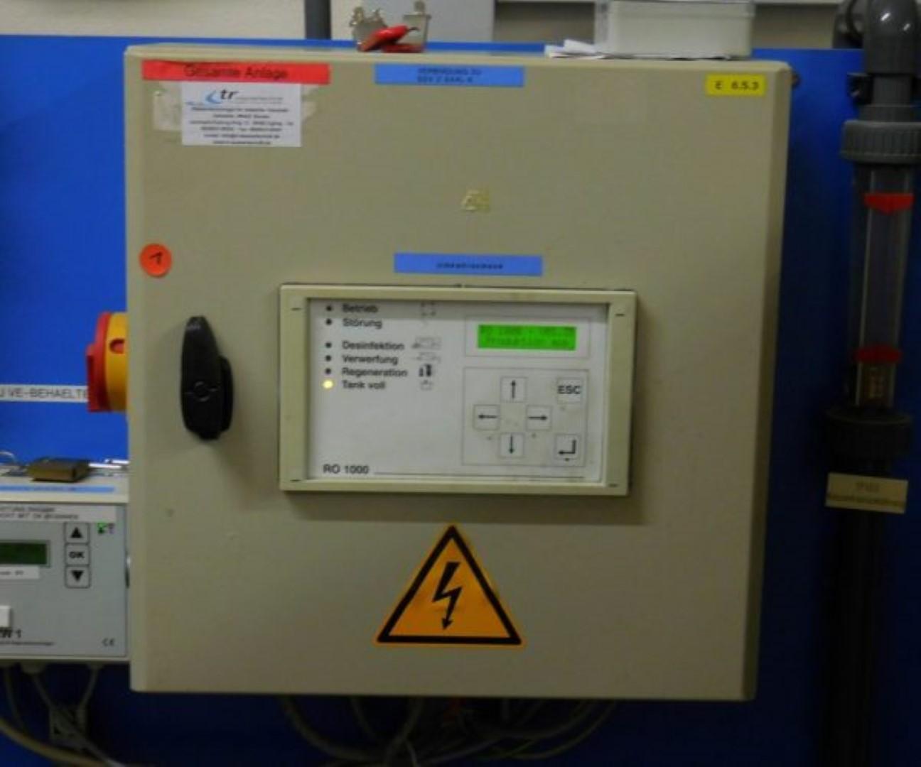 Steuerung UO - Anlage RO1000