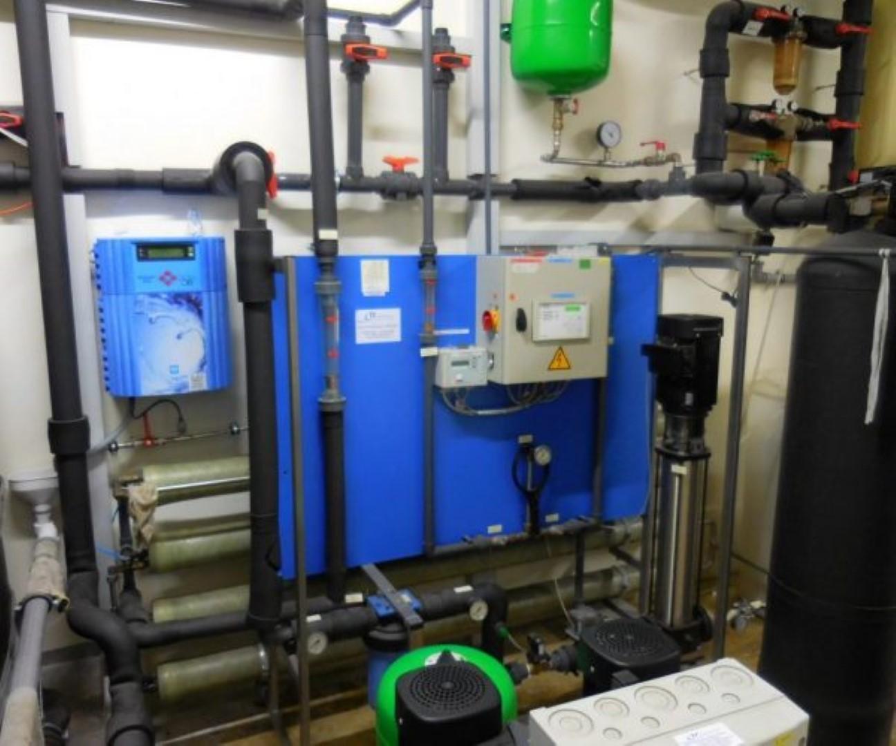 Wasseraufbereitung Klimaanlage
