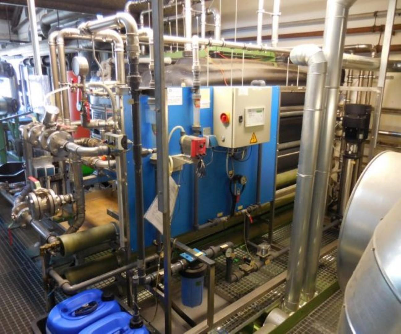 Wasseraufbereitung Speisewasser Dampfkessel